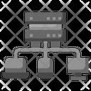 Database Server Smartphones Icon