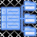 Storage Server Network Icon