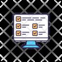 Database Information Data Icon