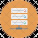 Database Hosting Networking Icon