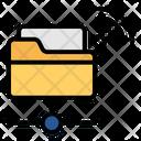 Database Folder Internet Of Things Icon