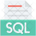 Database File Sql Icon