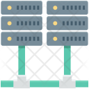 Database Mainframe Networking Icon