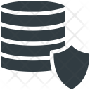 Database Security Shield Icon