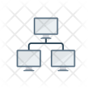 Database Network Computer Icon