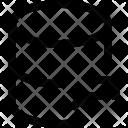 Arrow Up Database Icon