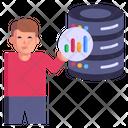 Database Analysis Icon