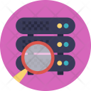 Database Server Analysis Icon