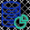 Idatabase Pie Chart Database Analysis Chart Database Analysis Icon