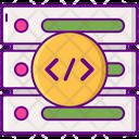 Database Architechture Database Architecture Server Coding Icon