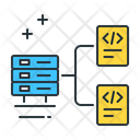Database Architecture Backed Cpanel Icon