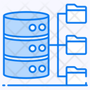 Database Architecture Sql Network Data Network Icon