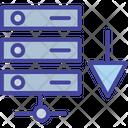Database Backup Storage Server Icon