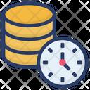 Database backup time Icon