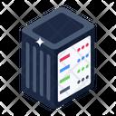 Dataserver Database Cabinet Datacenter Icon