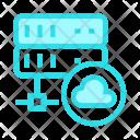 Database Cloud Icon
