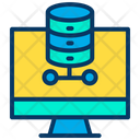 Computer Database Server Icon