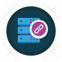 Database Link Database Connection Database Network Icon