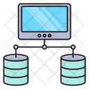 Database Network Connection Icon