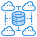 Data Center Server Network Icon