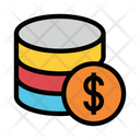 Database Cost Icon