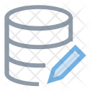 Database Edit Web Icon