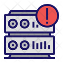 Database Warning Server Icon