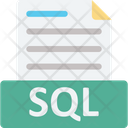 Database File Sql Sql Coding Icon