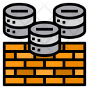 Firewall Bricks Network Icon