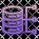 Idatabase Flow Database Flow Server Flow Icon