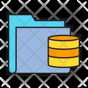 Data Storage Archive Icon