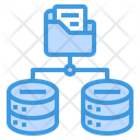 Big Data Storage Server Icon