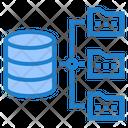 Database Folder Network Database Network Database Architecture Icon