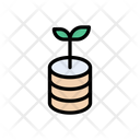 Database Growth Icon