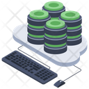 Database Hosting Datacenter Data Bank Icon