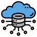 Data Center Server Cloud Icon