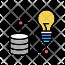 Database Idea Realization Realization Idea Icon