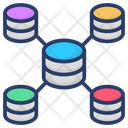 Database Infrastructure Data Networking Database Model Icon