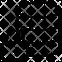 Database Business Lock Icon