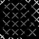 Database Lock Locked Icon