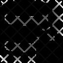 Database Lock Secure Database Icon