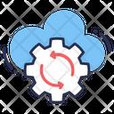 Database Analytics Gear Setting Icon