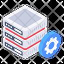 Server Management Database Management Server Maintenance Icon