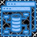 Database Management Management Server Icon