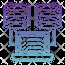 Database Management Server Management Management Icon