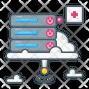 Database Server Cloud Icon