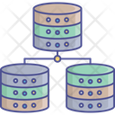Database Model Database System Network Database Icon