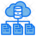 Data Cloud Network Icon