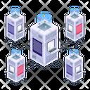 Server Network Server Room Database Network Icon