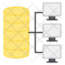 Database Network Database Connection Lan Icon